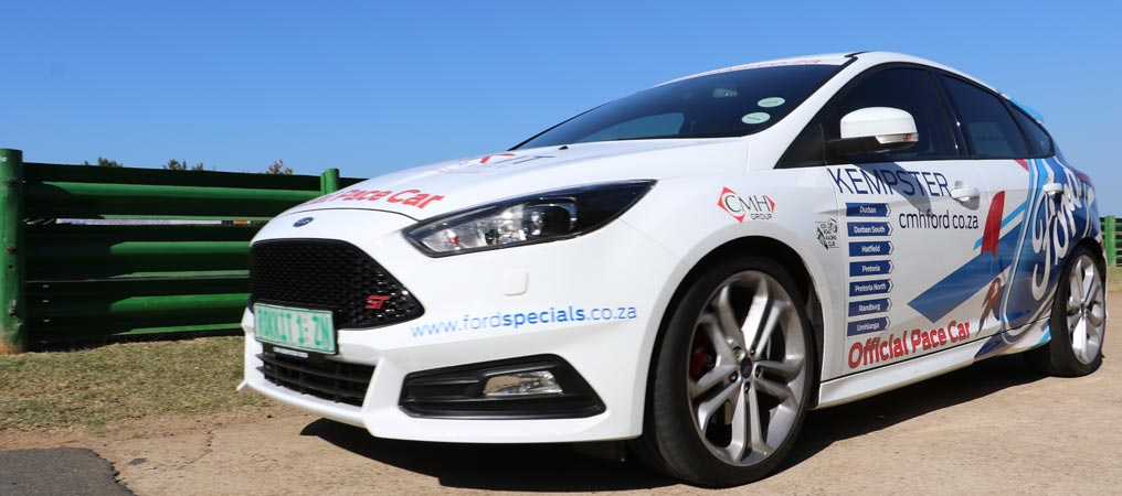 Rokkit Digital Agency CMH Ford Focus ST Official Pace Car Dezzi Raceway