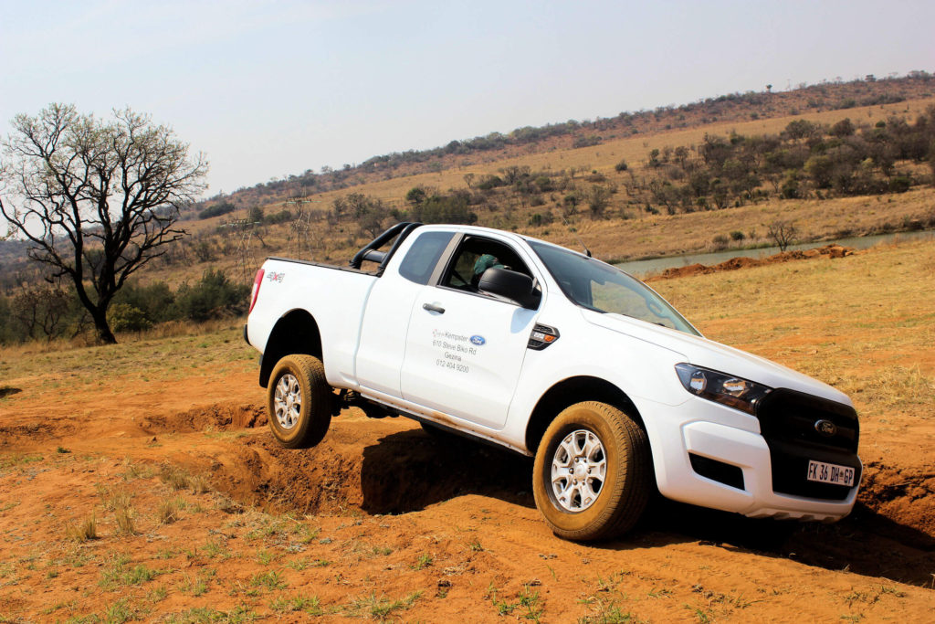 Fun in the sun with the Ford Ranger 2.2 at Wolwekloof 4x4 Club