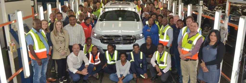 Ford Everest Production Silverton