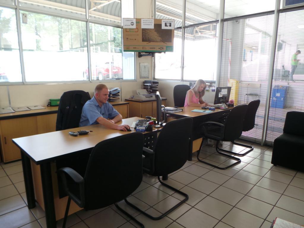 CMH Ford Randburg Service Department