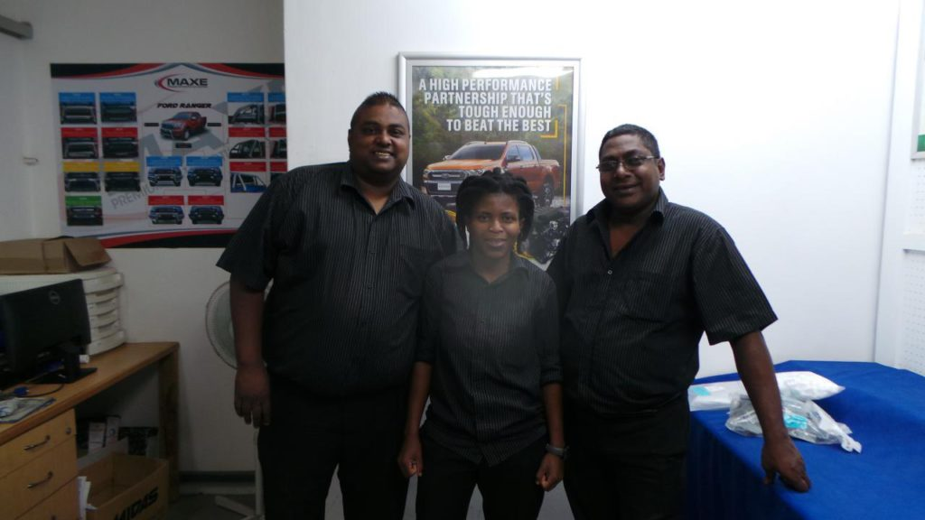 CMH Ford Umhlanga Parts Department Team