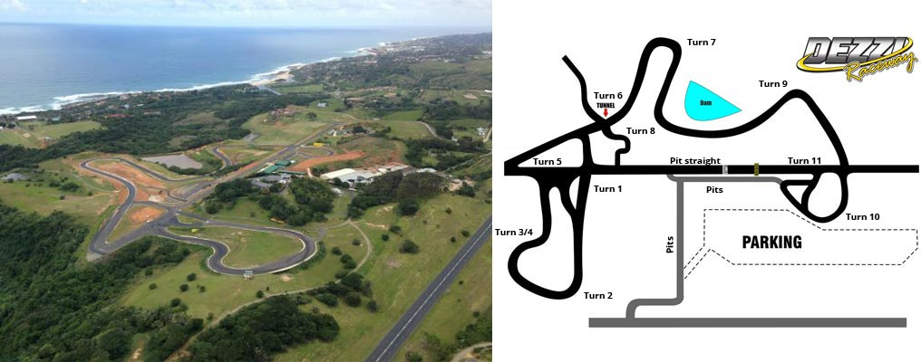 Dezzi Raceway Track Layout And Overhead