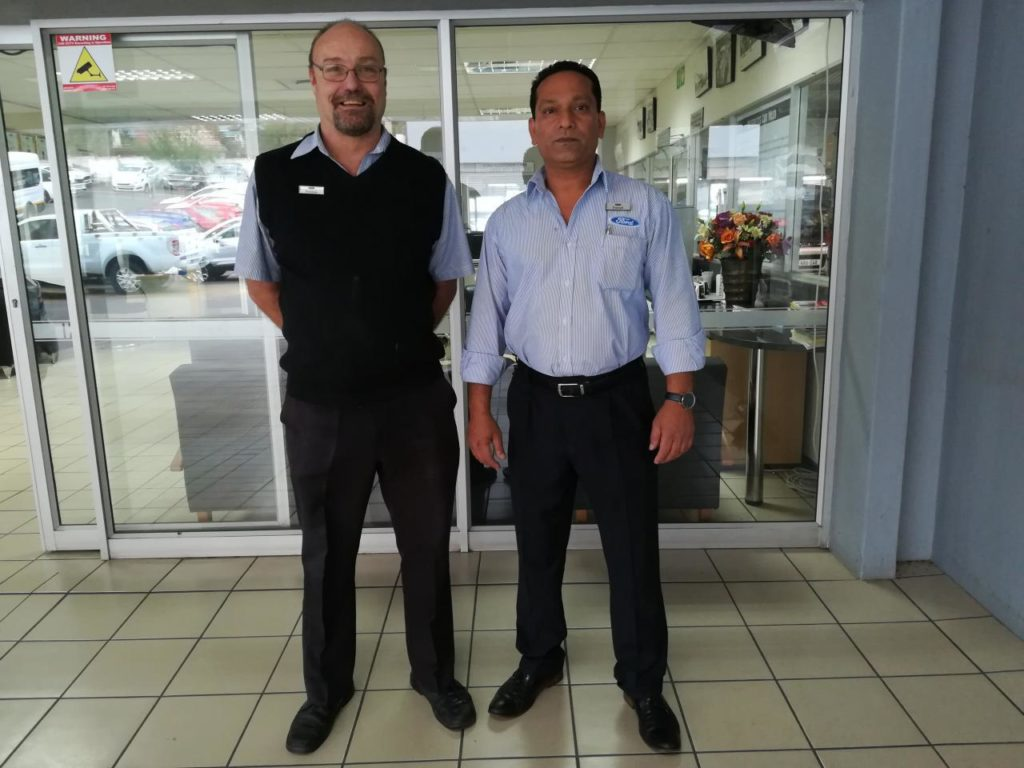 CMH Ford Durban Service Department