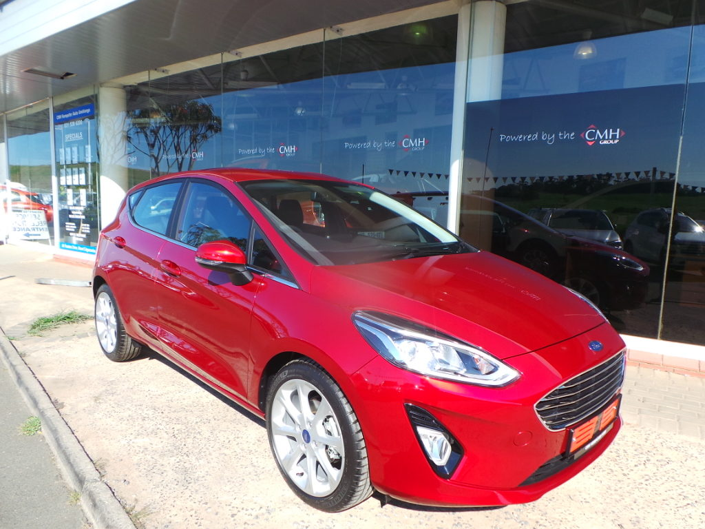 Red Fiesta at CMH Ford Umhlanga