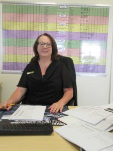 CMH Ford PTA- At her sales desk