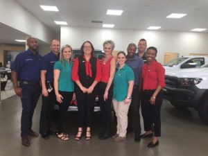 CMH Ford PTA- New Car Sales Team