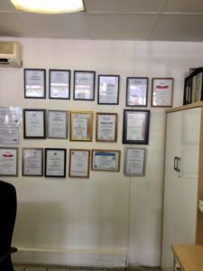 CMH Ford PTA North- F&I Certificates