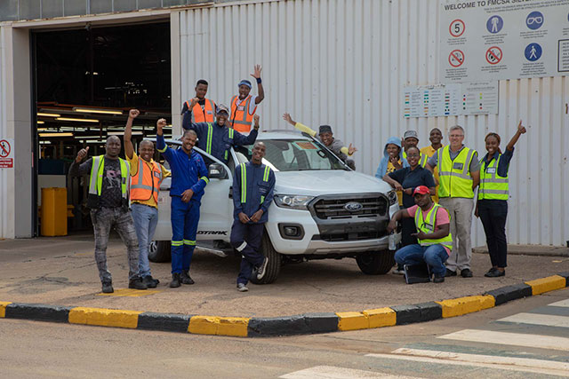 all new 2019 ford ranger in south africa