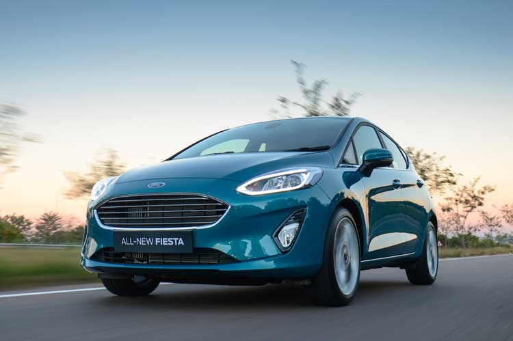 Go make waves in the New Ford Fiesta