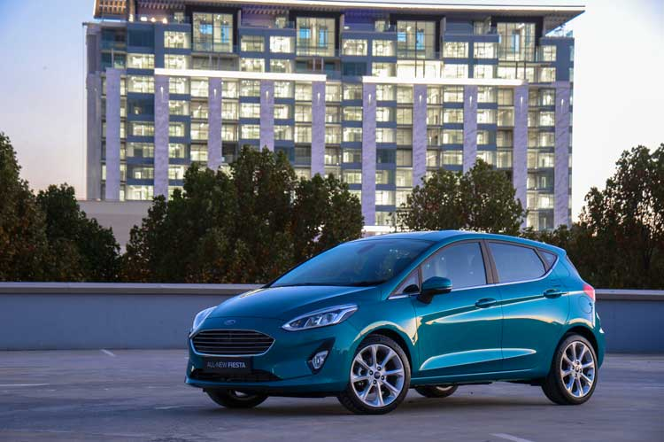 New Ford Fiesta - Go make waves in the New Ford Fiesta