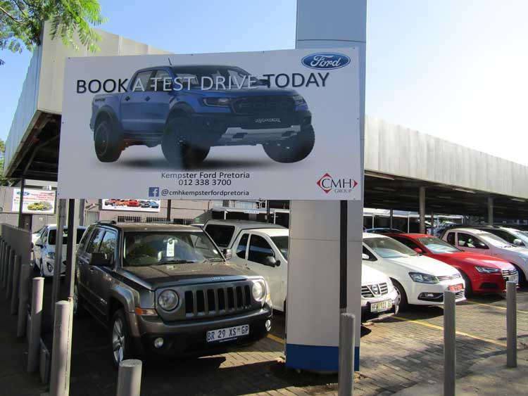 CMH Kempster Ford Pretoria - REVAMPED, RENEWED, REINTRODUCED
