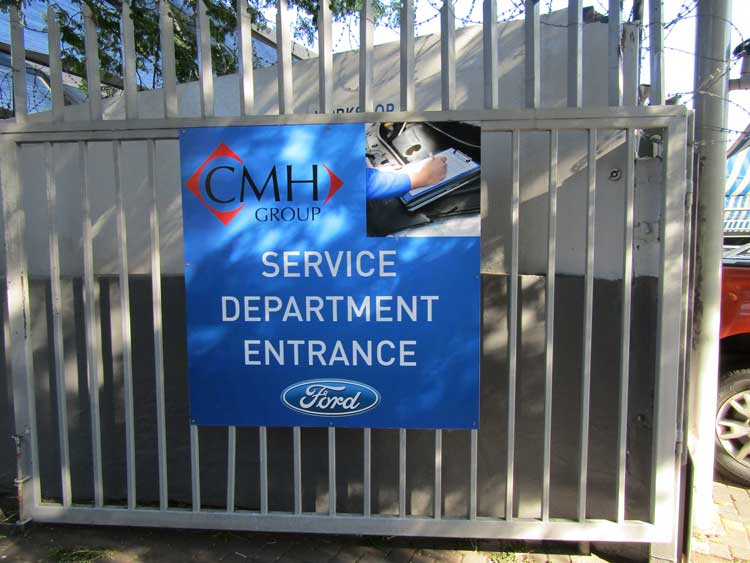 CMH Ford - REVAMPED, RENEWED, REINTRODUCED - Service department