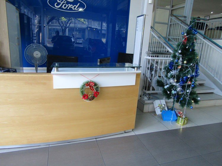 CMH-Kempster-Ford-Pretoria-Reception-Christamas-Tree