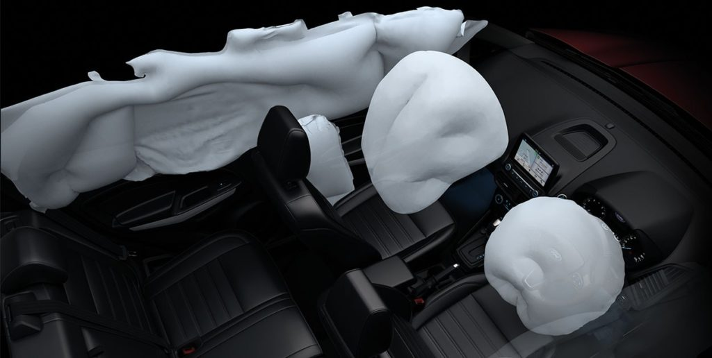 Ford EcoSport - Safety Air bags