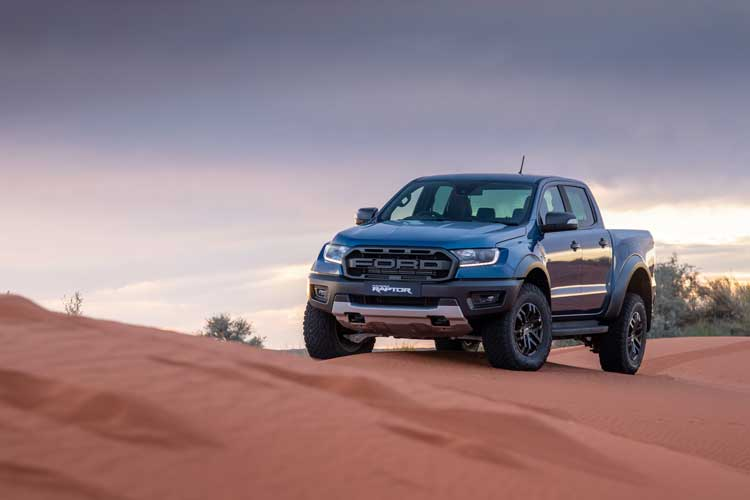 New wheels in 2020 - Ranger- Raptor - Infotainment