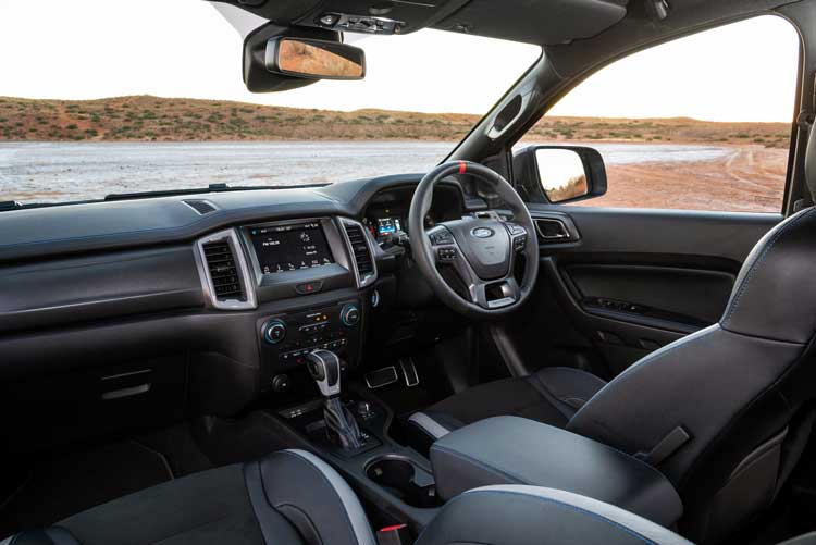 New wheels in 2020 - Ford Ranger - Raptor Interior