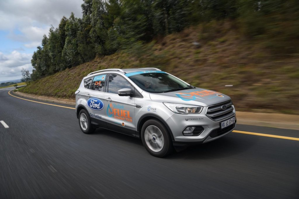 Ford Lives up to 'Go Further' Brand Promise - With the - Ford Kuga - Wesbank Fuel Economy Tour