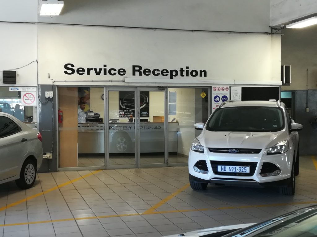 CMH Ford Durban South - Service