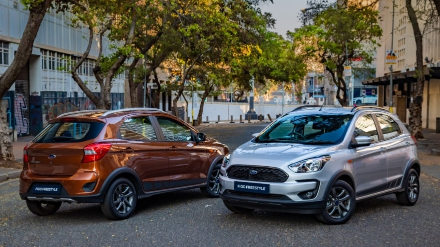 CMH Kempster Ford Randburg - The All-New Ford Figo Freestyle- Coulors