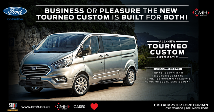 NEW FORD TOUNEO AUTOMATIC - CMH-TOURNEO-SPECIAL