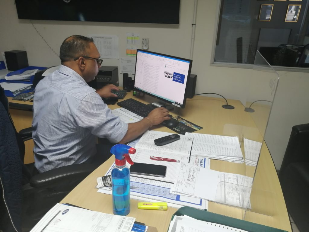 CMH KEMPSTER FORD DURBAN - VINCENT GOVENDER On duty