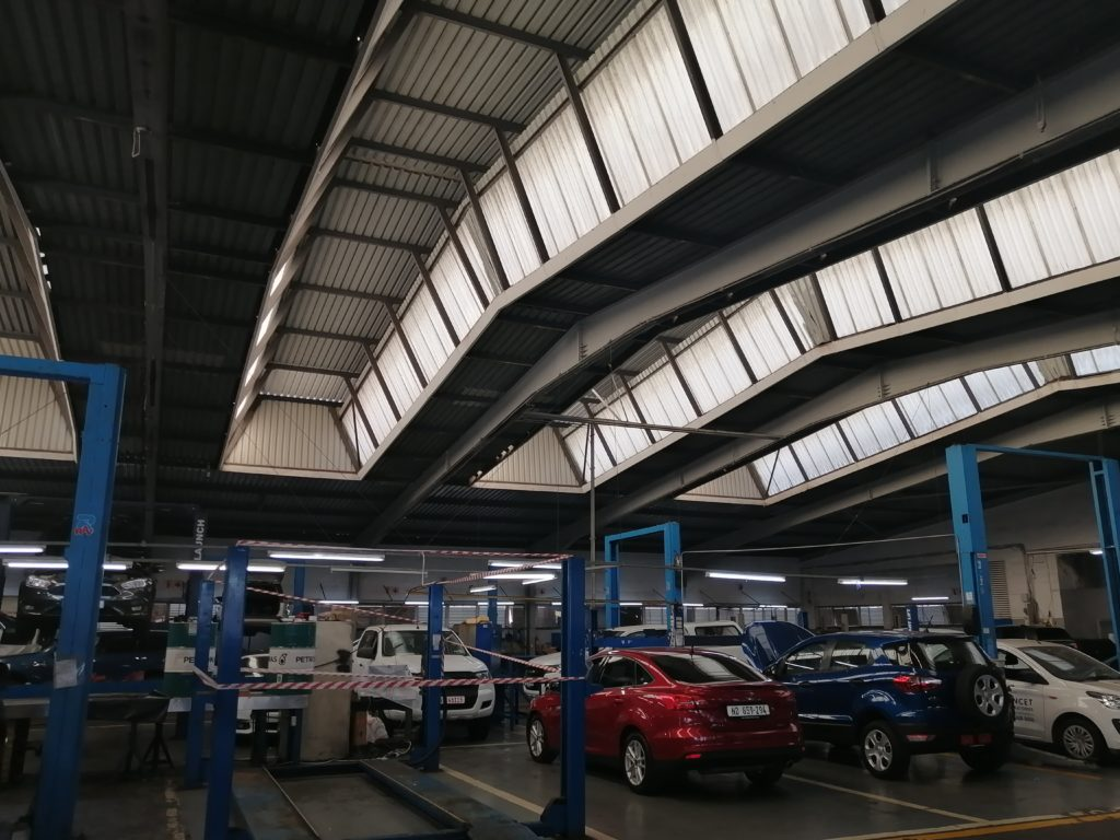 CMH KEMPSTER FORD DURBAN Showroom