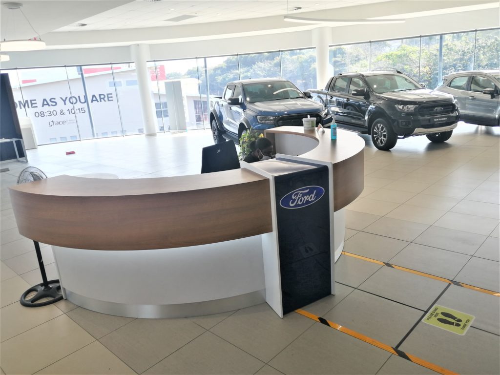 Kempster Ford Umhlanga - Reception