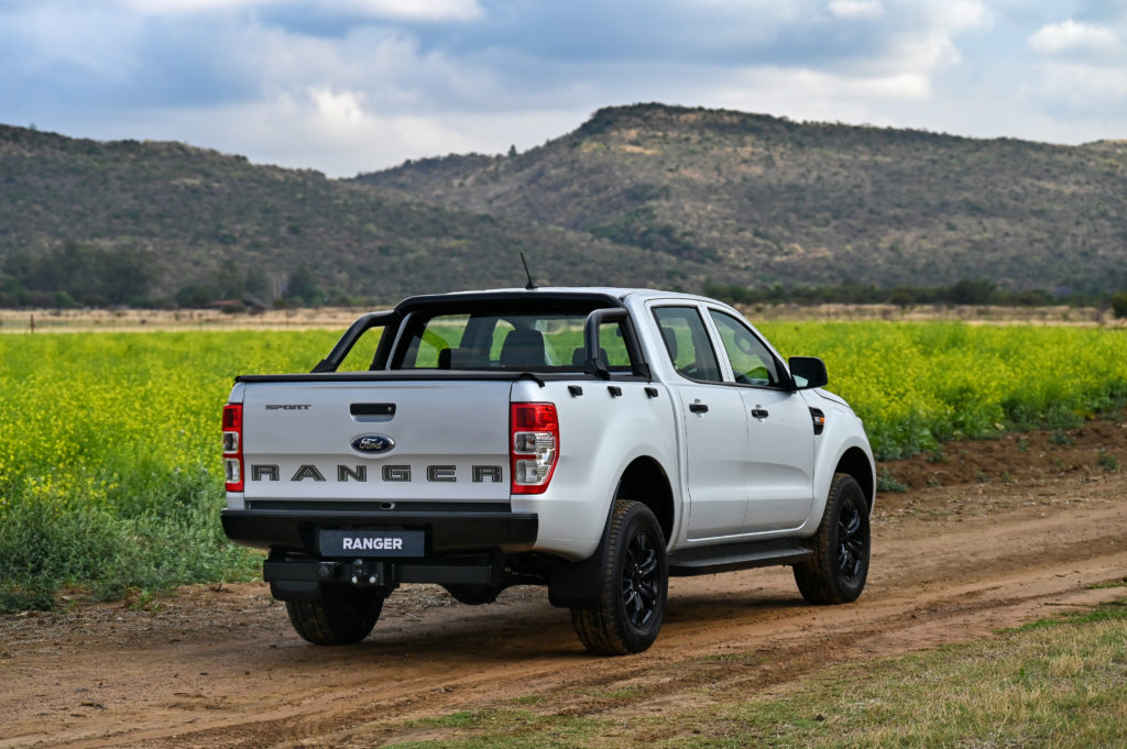 Ranger XL Sport | Side-Rear View