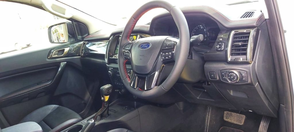 Ford FX4 Steering