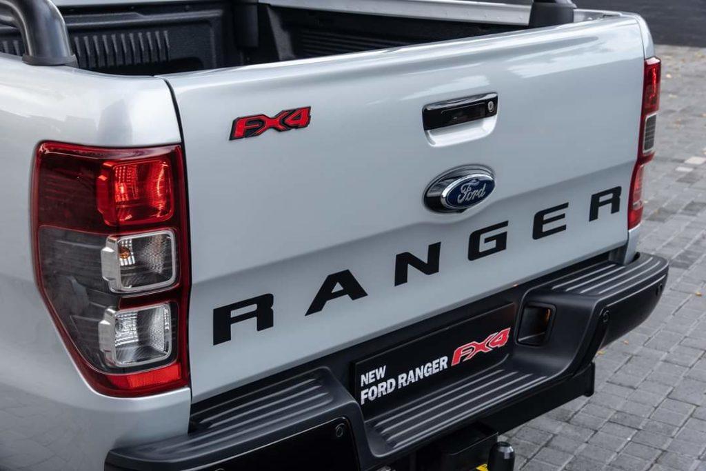 Ford Ranger FX4 Rear view