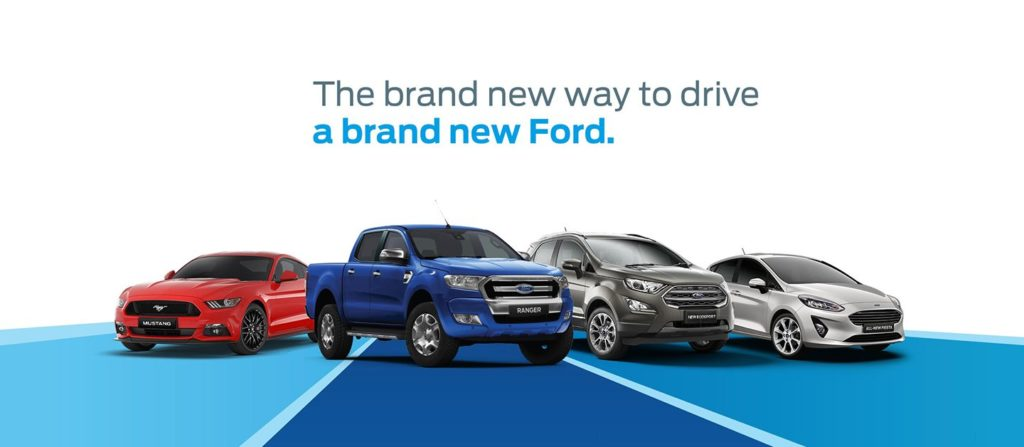 Ford vehicle options
