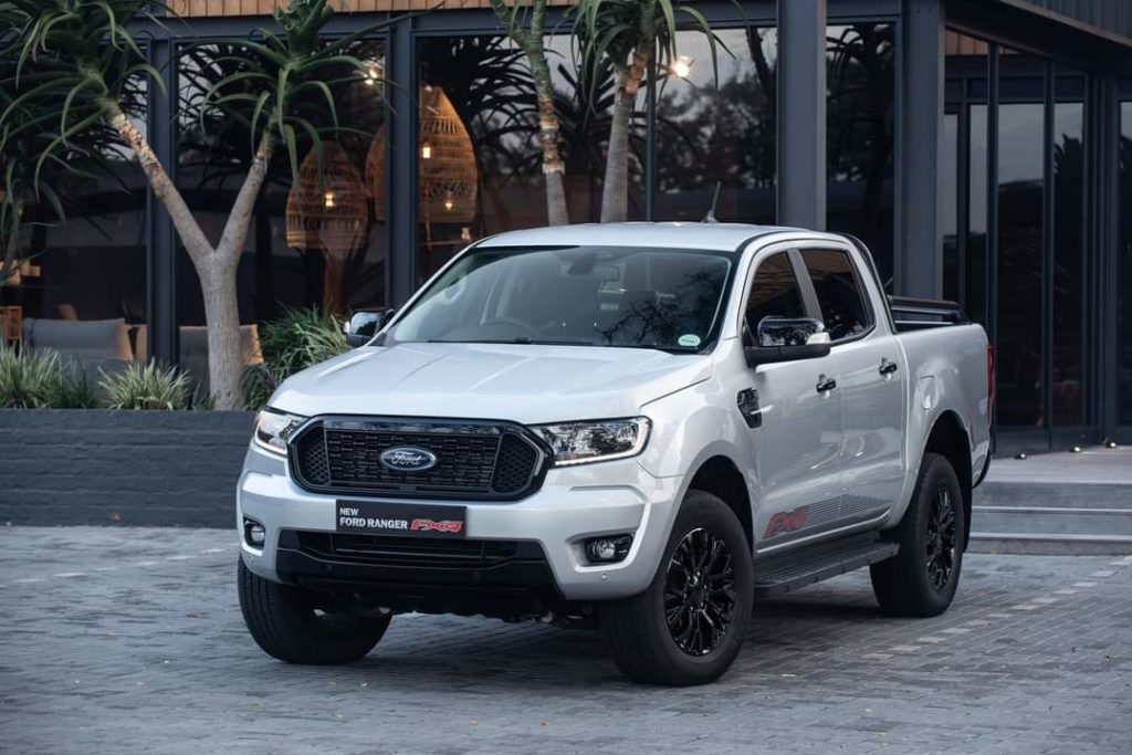 Ford Ranger FX4 Front View