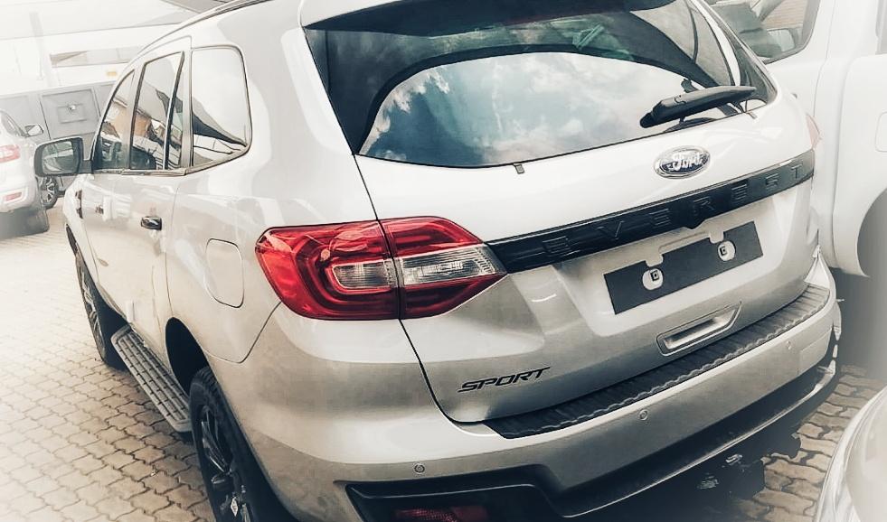 Ford Everest Sport Backview