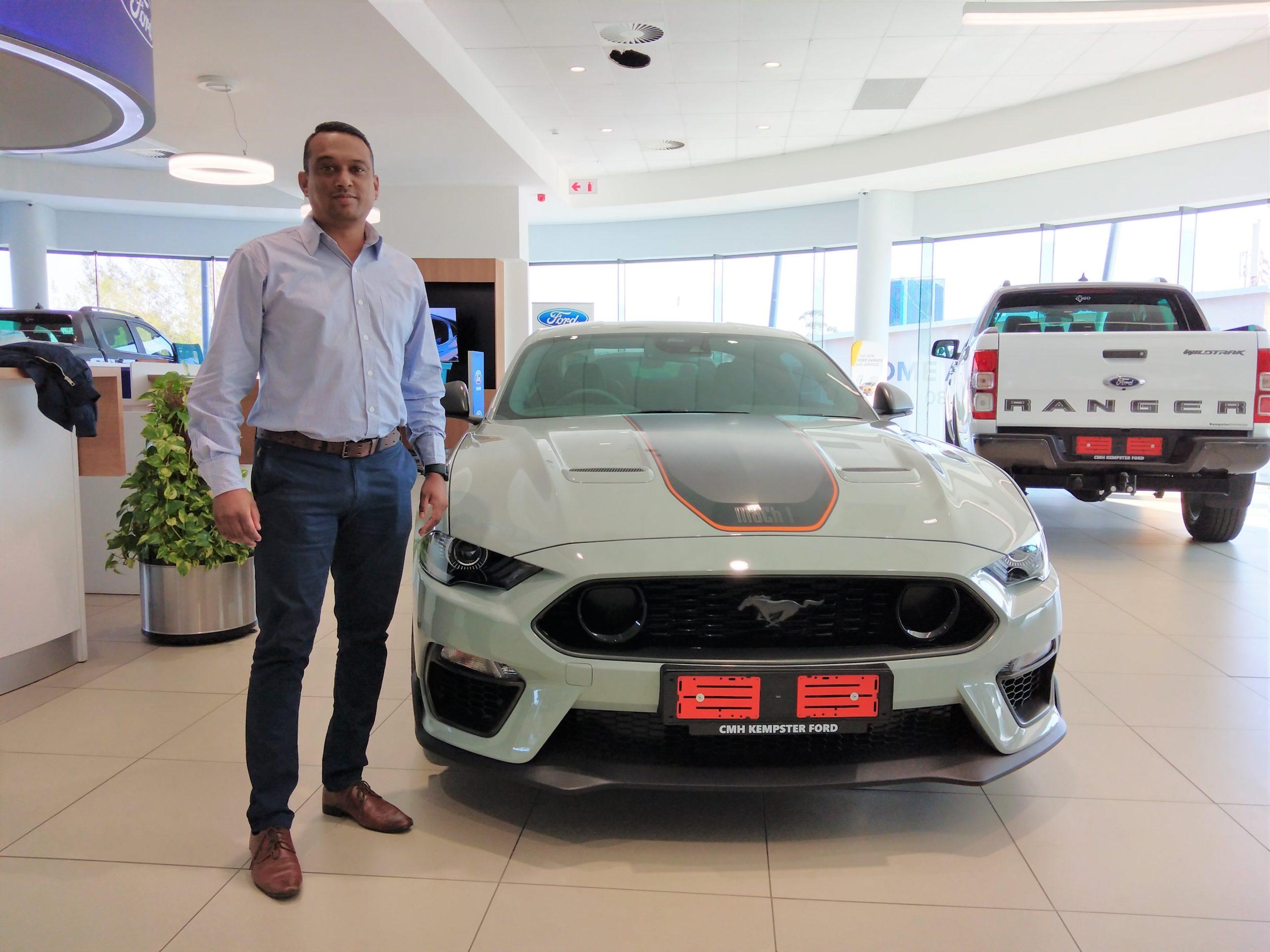 Donovan Naidoo – Parts Manager