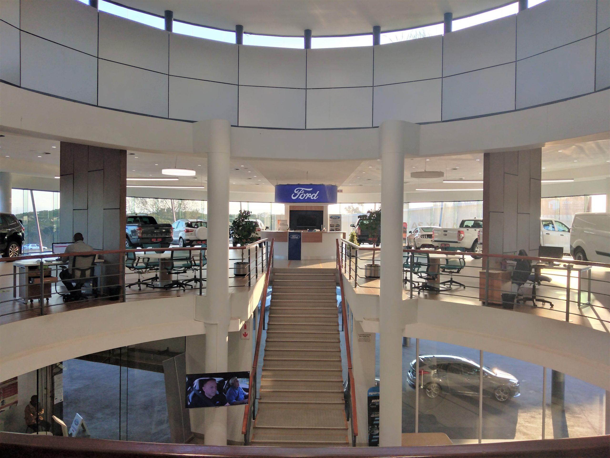 Ford Umhlanga New Showroom