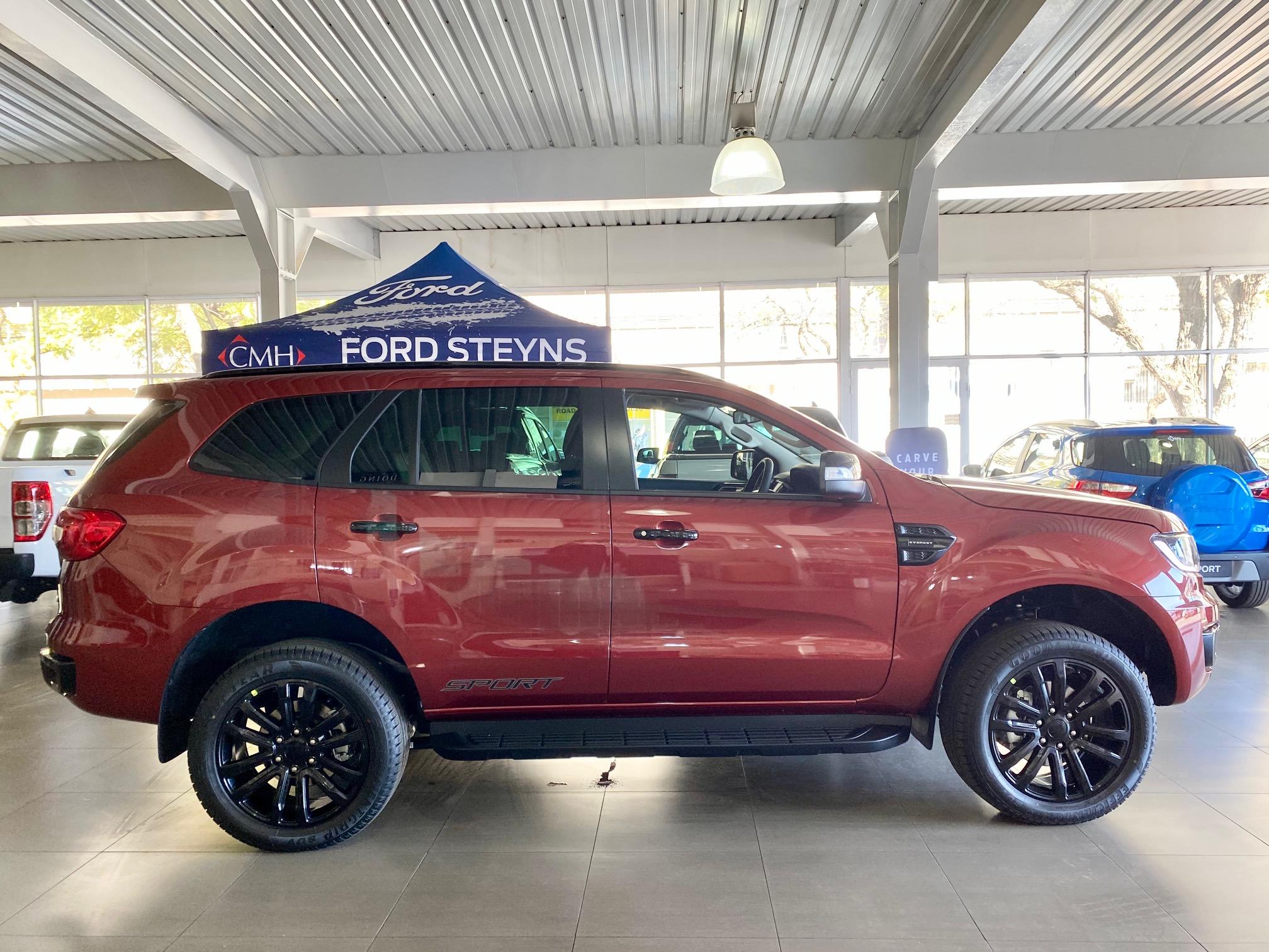 Ford Everest Sport Exterior