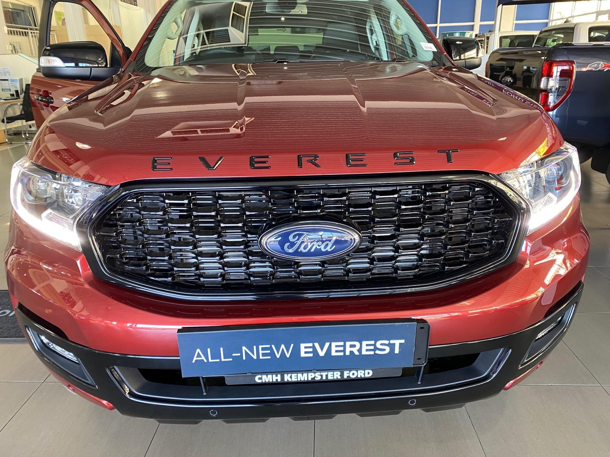 Ford Everest Sport Front