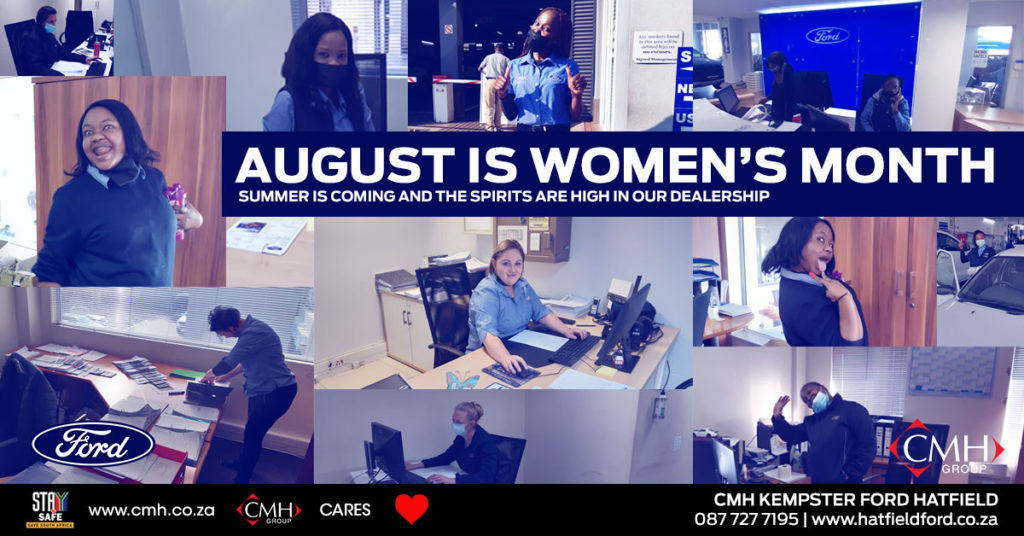 August in Womens Monthh