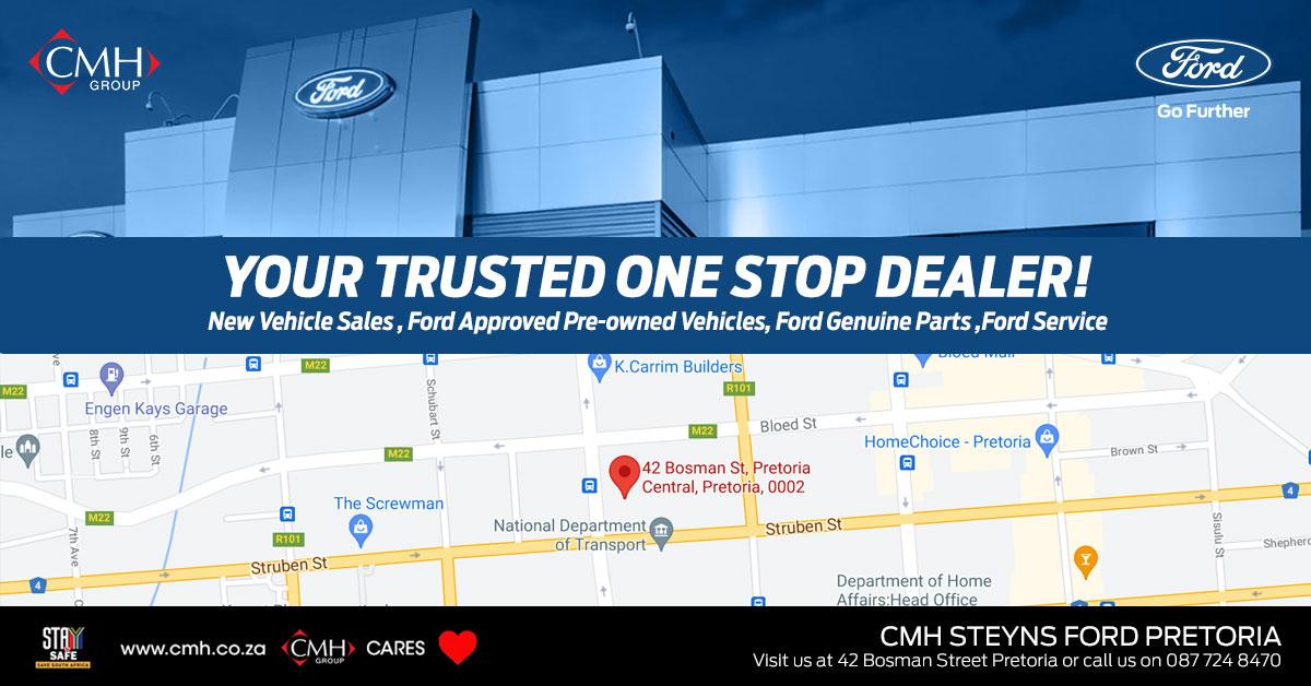 CMH Steyns Ford Pin