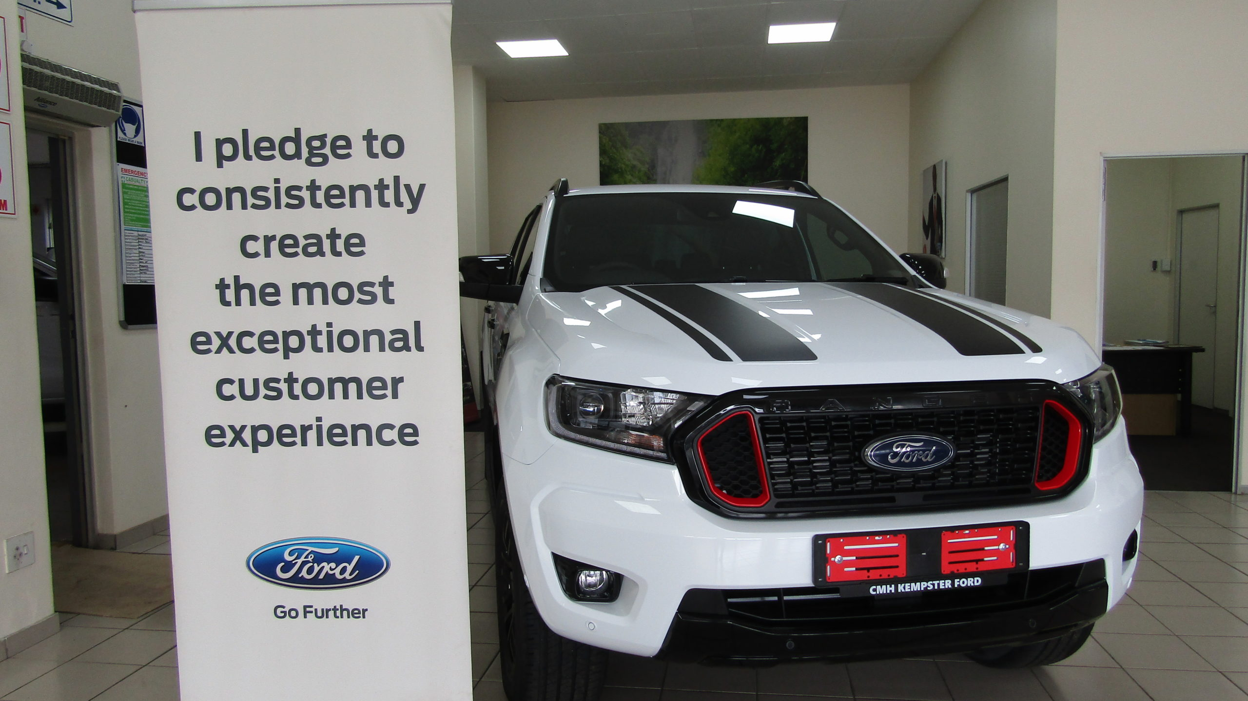 Ford Guest Experience Durban South Showroom